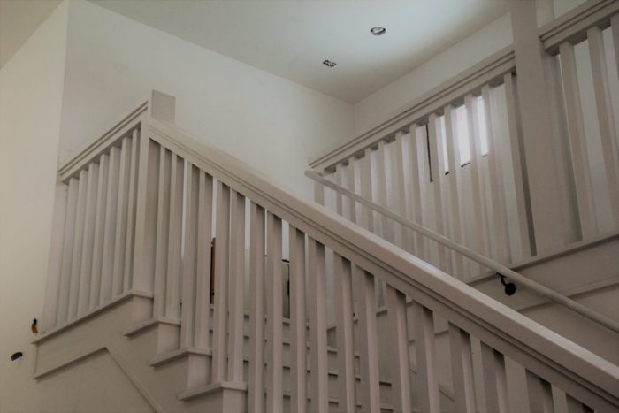 Architect designed balustrade