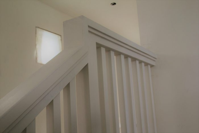 Architect designed handrail